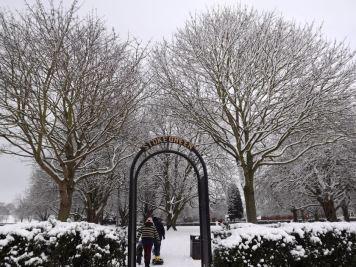 Snowy Stoke Green